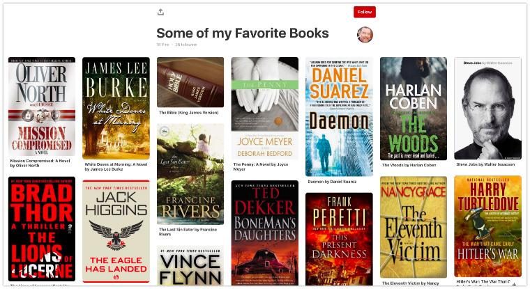 Pinterest Book Rec