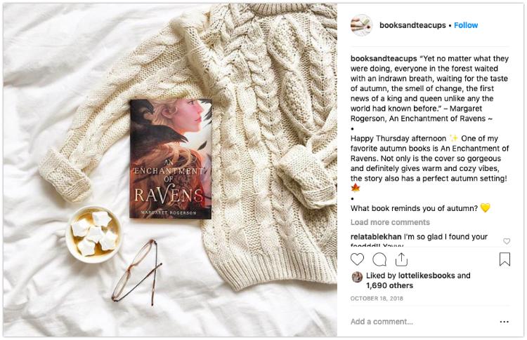 booksandteacups how to take bookstagram photos