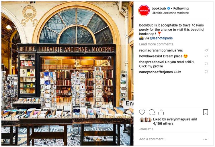 bookbub bookstagram repost
