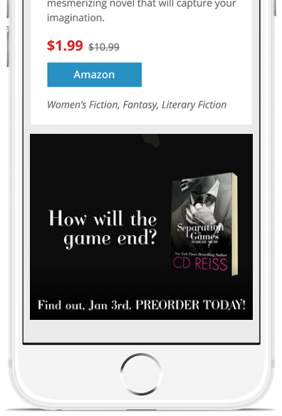 BookBub Ads Preorder Book Promotion