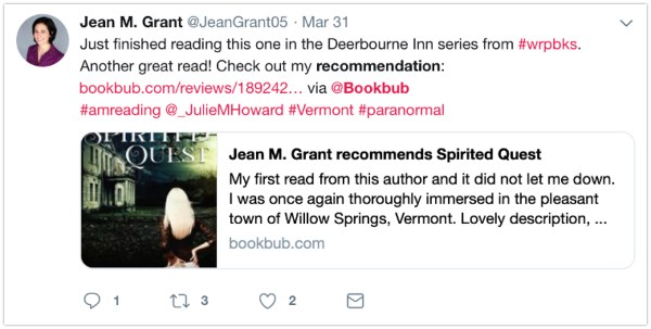 twitter for authors bookbub