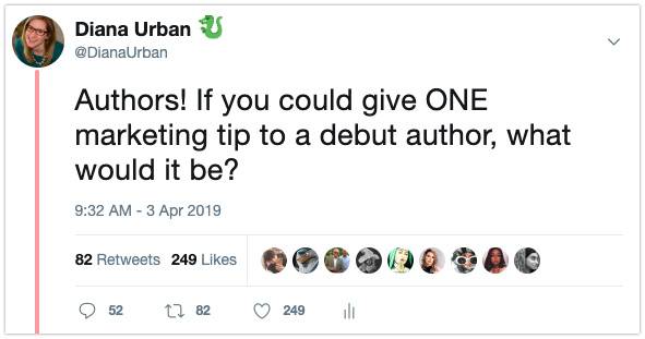 book marketing debut authors