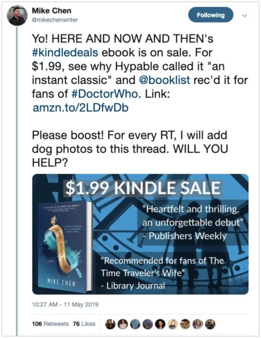 amplify bookbub deal social media