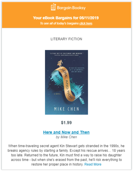 bookbub featured deal stacked promotions