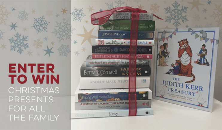 Ways to Sell More Books for the Holidays book giveaway HarperCollins