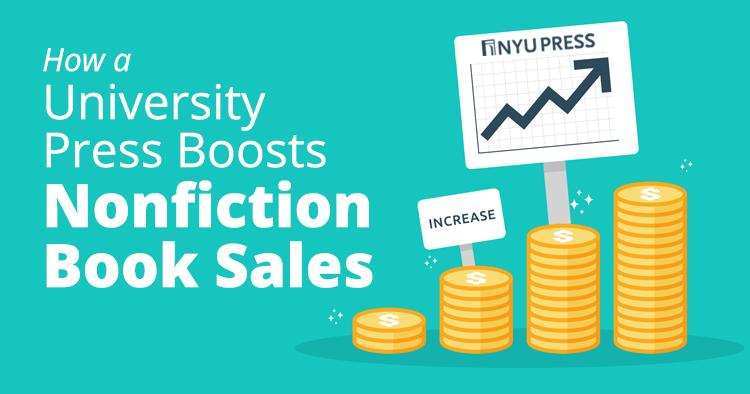 how a university press boosts nonfiction book sales