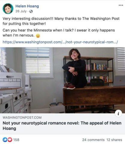 Ways Authors Use Facebook News Sharing