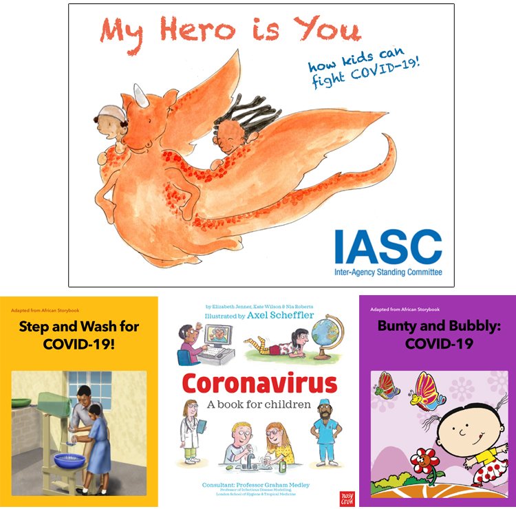 Corona Kids Books