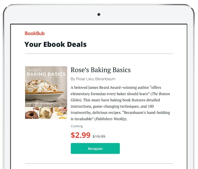 BookBub Featured Deal - Rose's Baking Basics