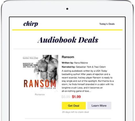 Chirp Audiobook Discount