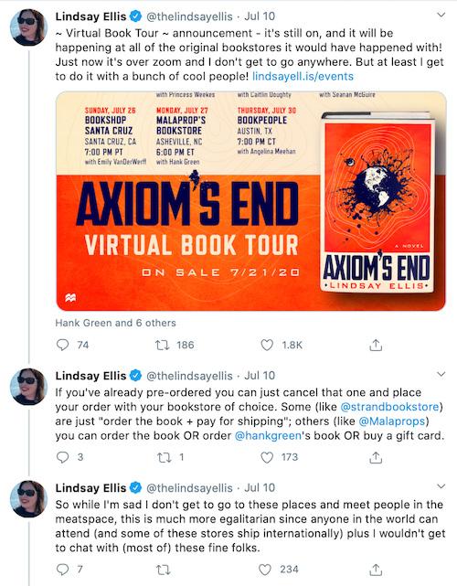 Virtual Book Tour Bookshop Partnership