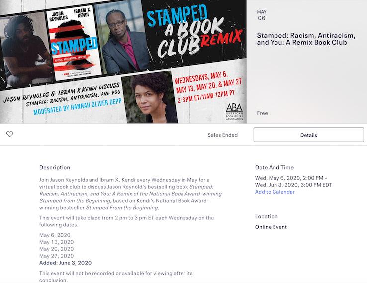 Virtual Book Tour Book Club