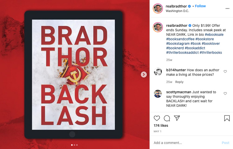 Prominent Ebook Bookstagram