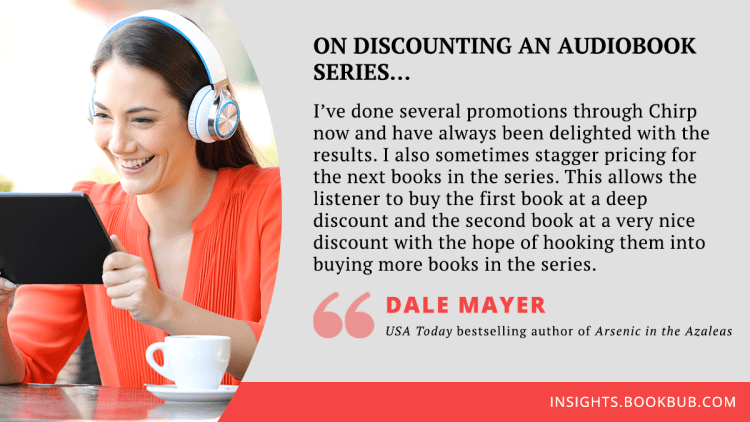 Audiobook marketing tip from Dale Mayer