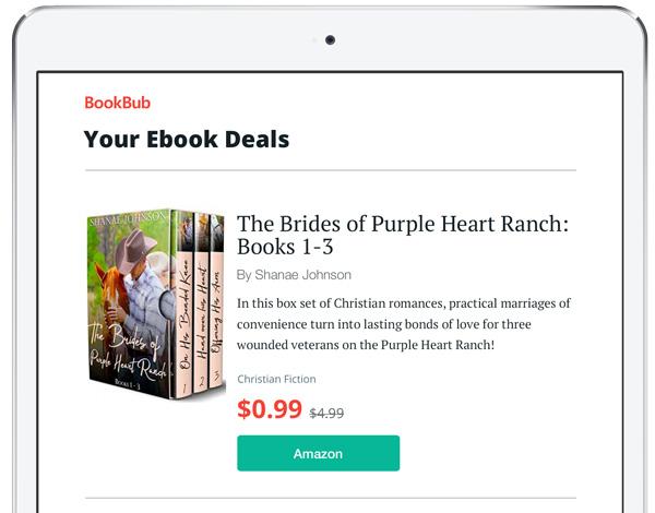 BookBub Romance Featured Deal