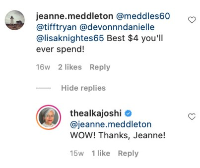 Author Instagram Interaction