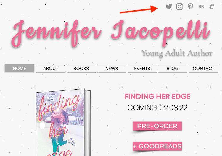 Author Jennifer Iacopelli's Website