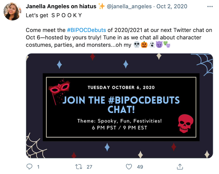 Host Author Twitter Chats 2