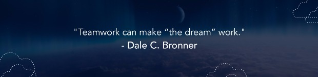 Dale c bronner quote teamwork