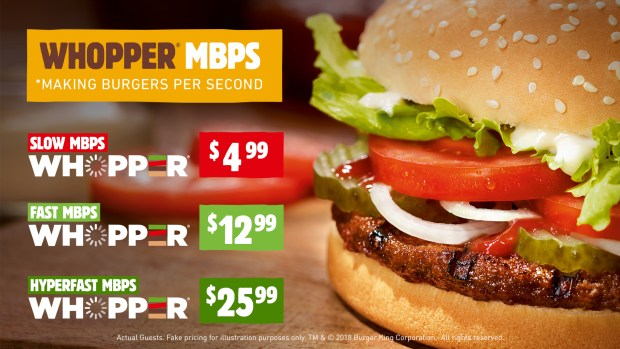 burger king net neutrality menu