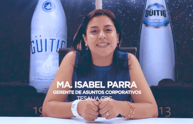 María Isabel Parra, Gerente de Asuntos Corporativos de Tesalia cbc