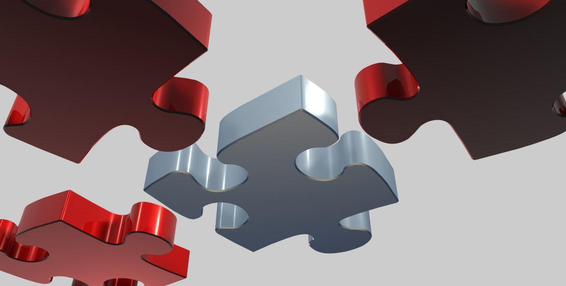 Puzzle peices that will fit together