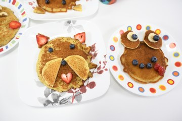 Dog and Frog Pancakes