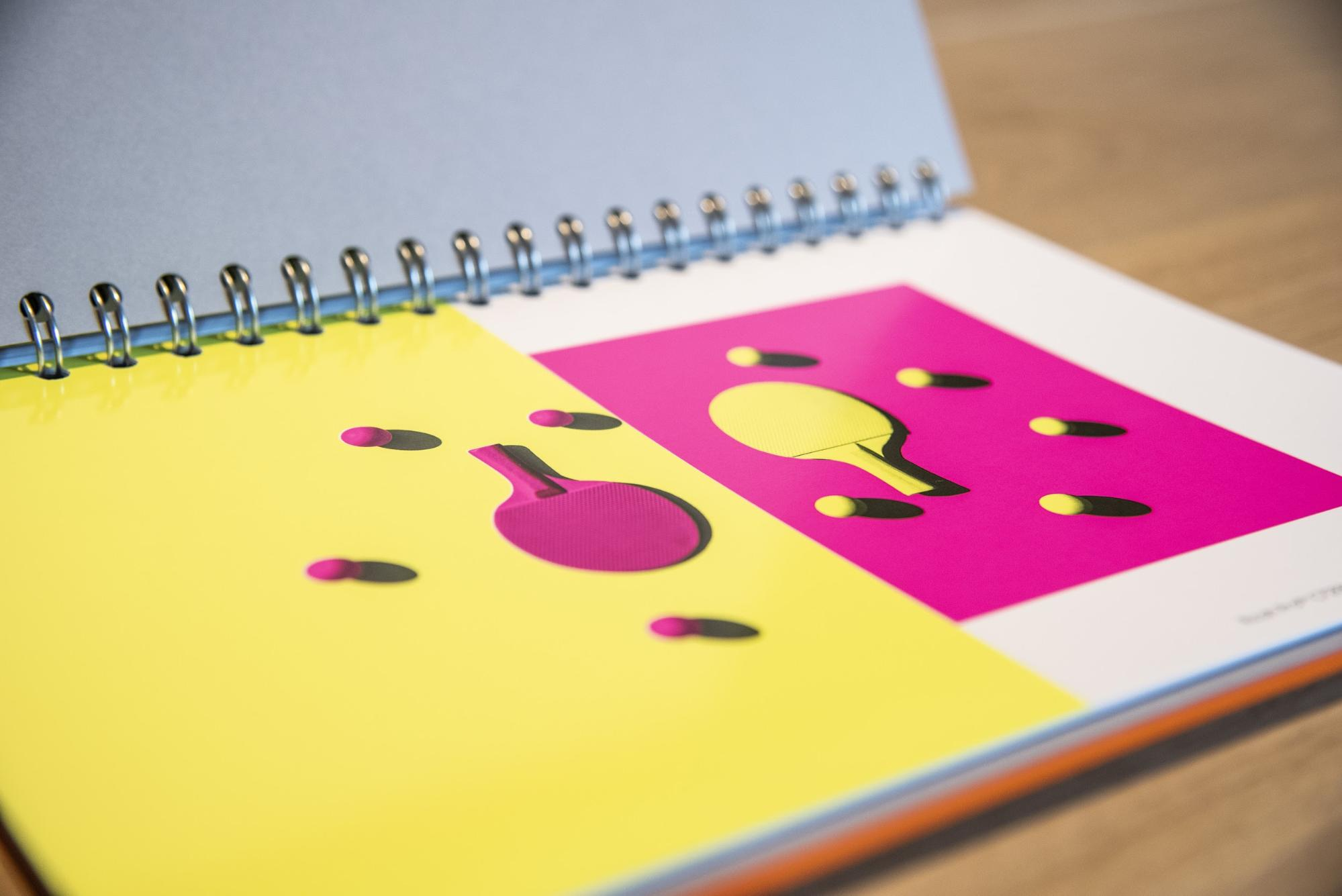 neon ink example print