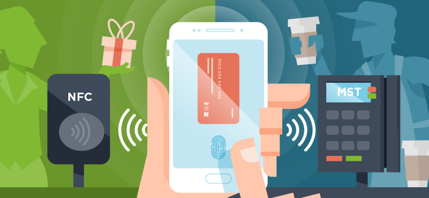 Magnetic secure transmission technology boosts mobile payment transactions, ensuring speed and efficiency.