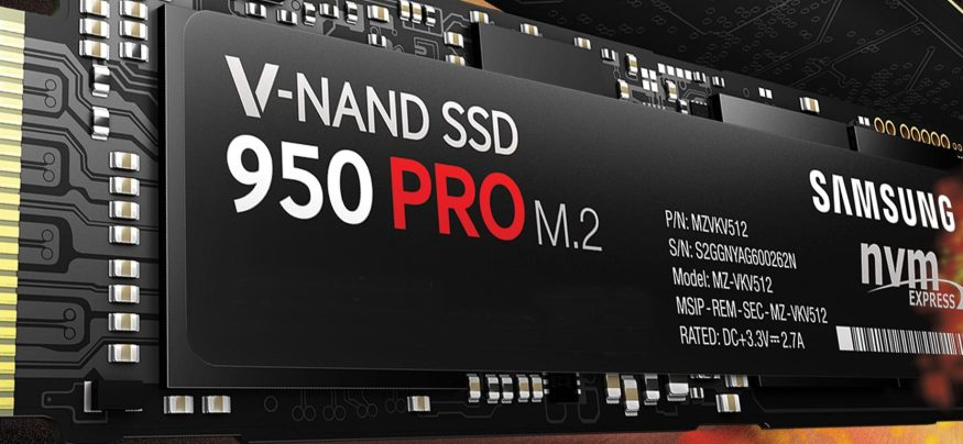 PCIe NVMe SSDs like the Samsung 950 PRO can provide five times the performance of earlier models of SSDs.
