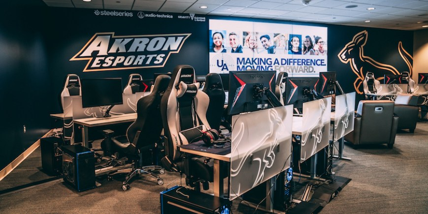 Thumbnail for: University of Akron Esports Team Hits Top Speed With SSD Technology