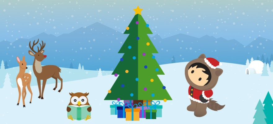 salesforce developer christmas