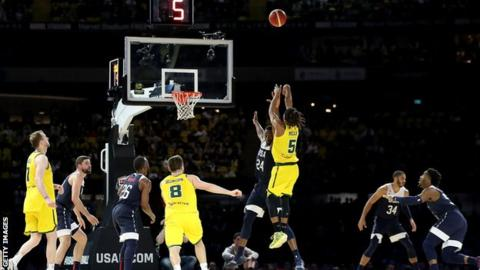 Australia end United States' 78-game basketball winning streak