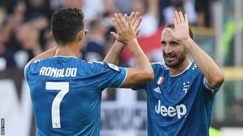 Ronaldo goal ruled out by VAR as Juventus make winning start in Serie A