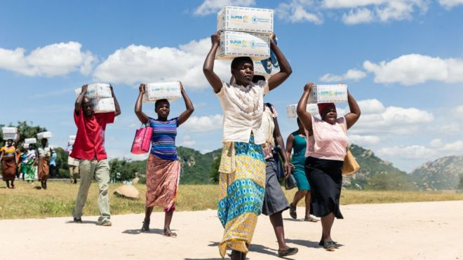 Food Aid Expanded In Zimbabwe As Half Population Faces Hunger