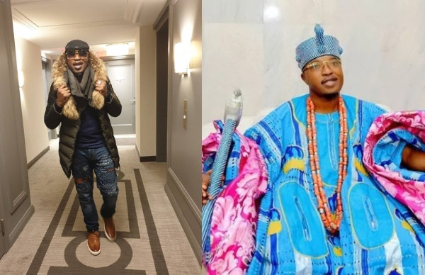 Oluwo of Iwo Land begs not be criticized after dumping his traditional outfit 'to add swags to royalty with foreign outfit'