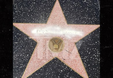 President Donald Trump's Hollywood star vandalized with graffiti