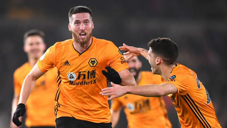 Wolves 3-2 Man City: Matt Doherty hits winner as 10-man City blow two-goal lead