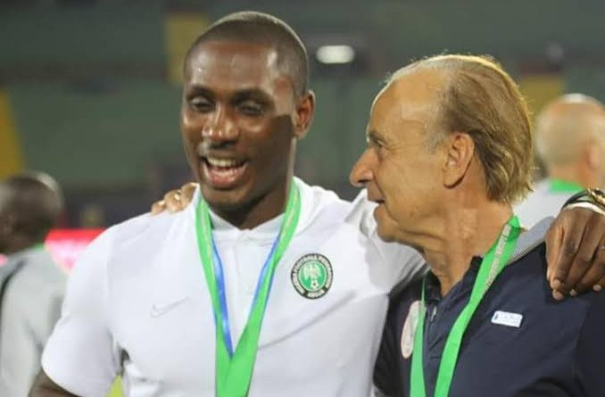 NFF denies forcing Odion Ighalo's retirement, says coach Rohr can bring him back if he wants