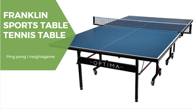 You are currently viewing Franklin Sports 9-ft Table Tennis Tables Review in 2021- Midsize included