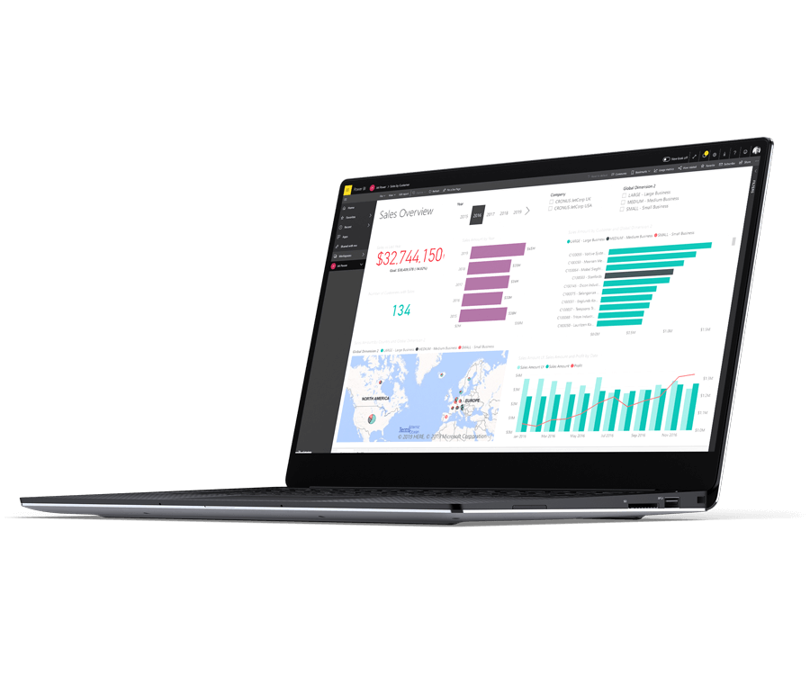 Power BI Financial Dashboards