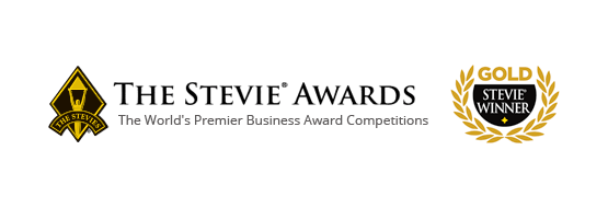 Gold Stevie Award Logo