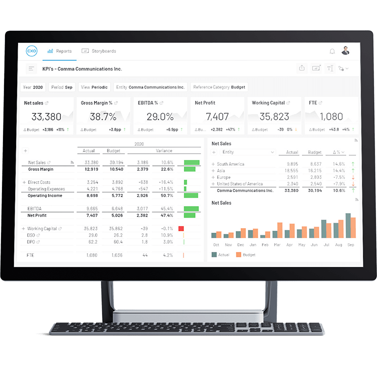 Cxo Transform Lackluster Epm Reporting Into Dynamic C Level Insights