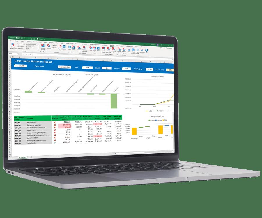 SAP ECC and S/4HANA Financial Reporting Software