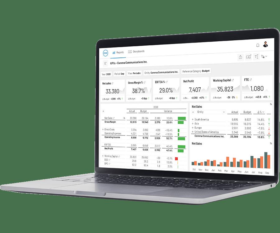 Oracle Essbase Gain Self Service Reporting