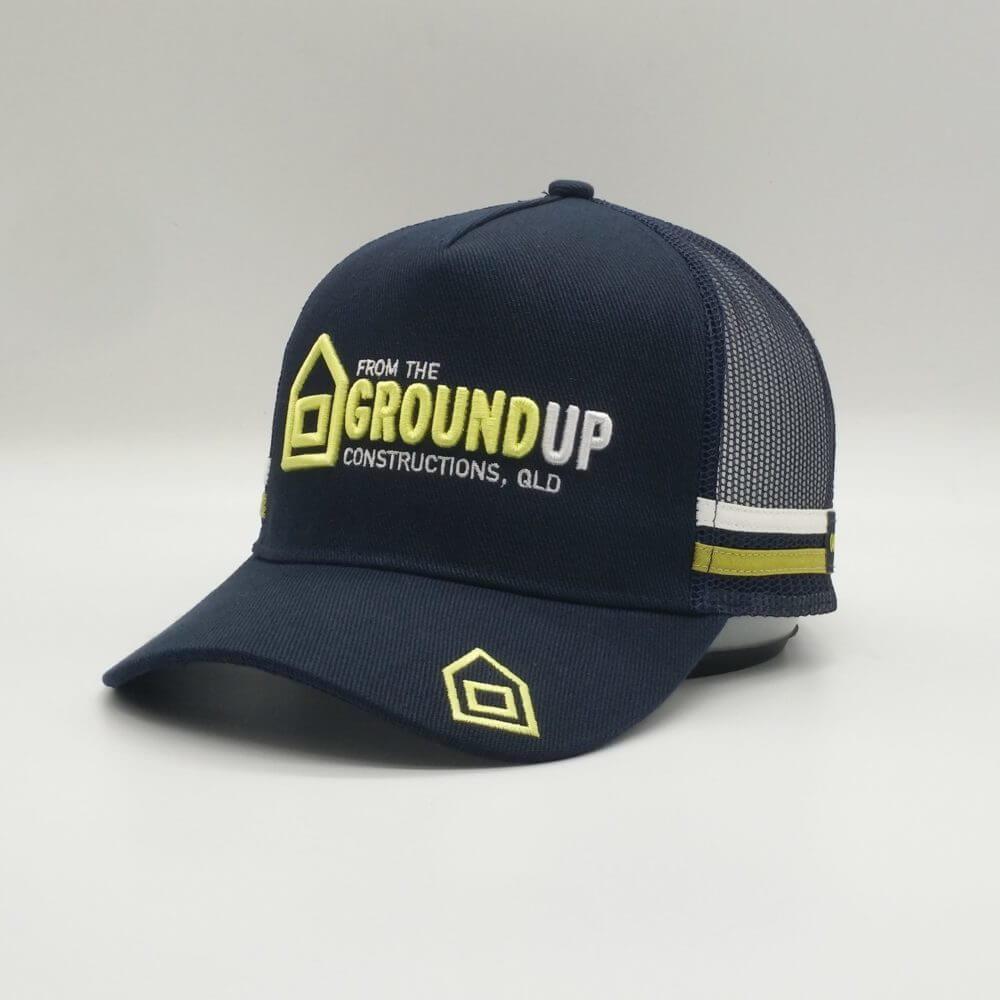 Trucker Hat - Baseball cap - Promotional Merchandise - From The Ground Up Constructions, QLD