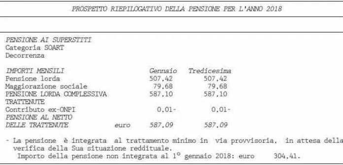 Prospetto ObisM 2018