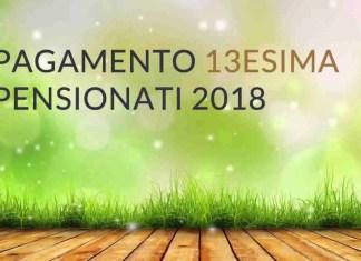 Pagamento tredicesima 2018 pensionati Inps - Calcolo e quando pagano