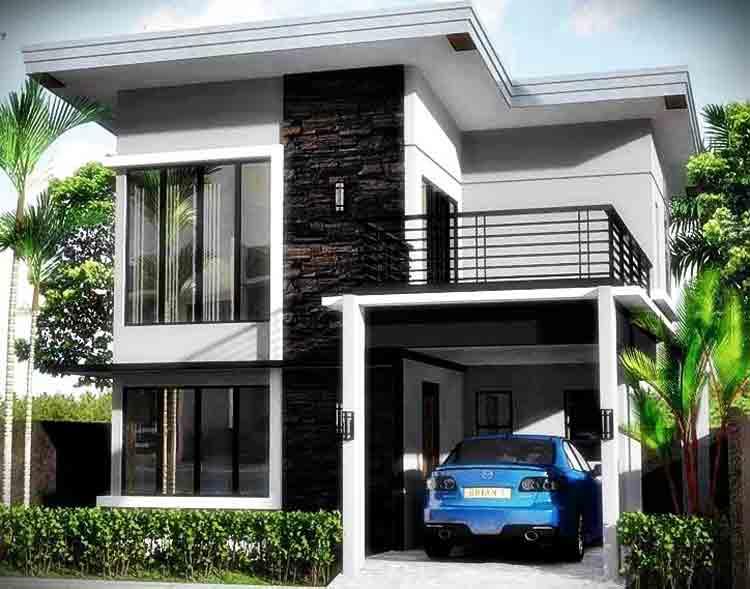 75 Model Rumah Minimalis 2 Lantai Sederhana Modern