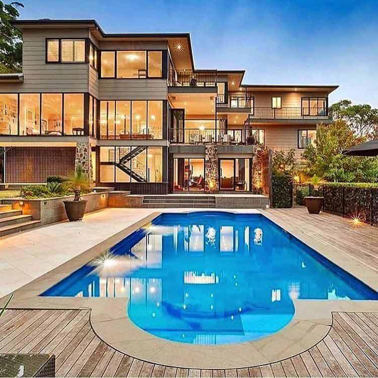 30 Model Kolam Renang Rumah Mewah Dan Minimalis 2019
